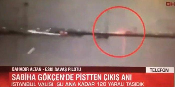 Kazayı yorumlayan eski pilot Bahadır Altan'ı yayından aldılar