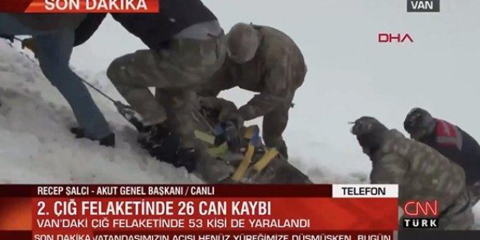 Çığ haberini kesip Erdoğan'ın mitingini yayınlayan CNN Türk'e tepki