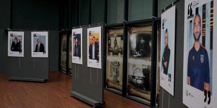 'Şehidin gözünden' sergisi ziyaretçilerini bekliyor
