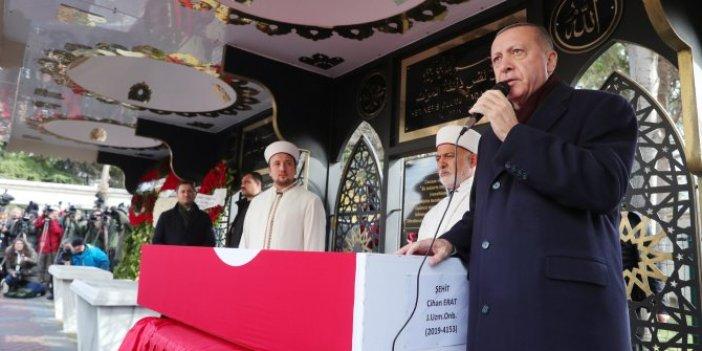Recep Tayyip Erdoğan: Şehitler tepesi inşallah boş kalmayacak