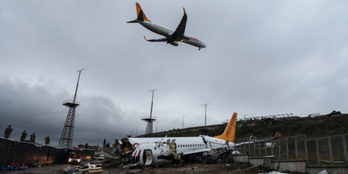 Uçak neden pisti pas geçti?