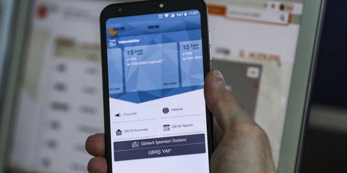ÖSYM, mobil uygulamasını erişime açtı!