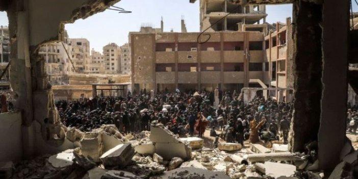 Rusya yine Halep'i vurdu