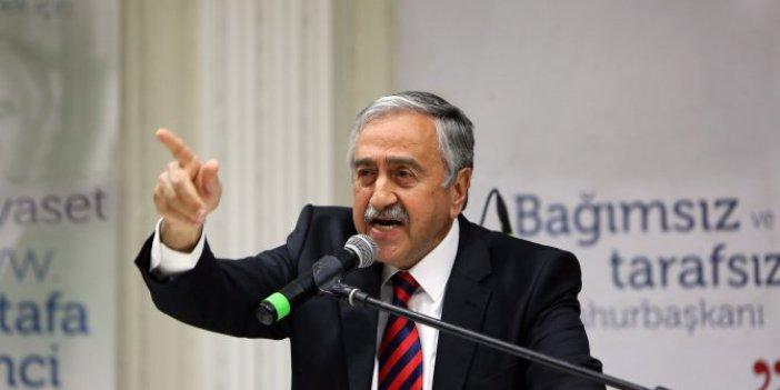 Mustafa Akıncı skandalda ısrarcı!