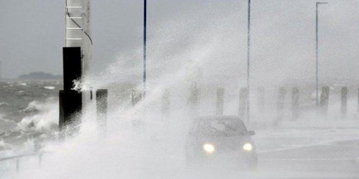 Avrupa'da fırtına kaosu!