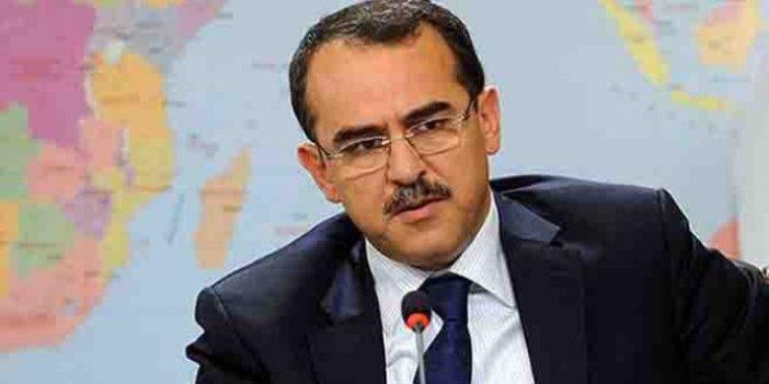 Sadullah Ergin, Recep Tayyip Erdoğan'ı hedef gösterdi