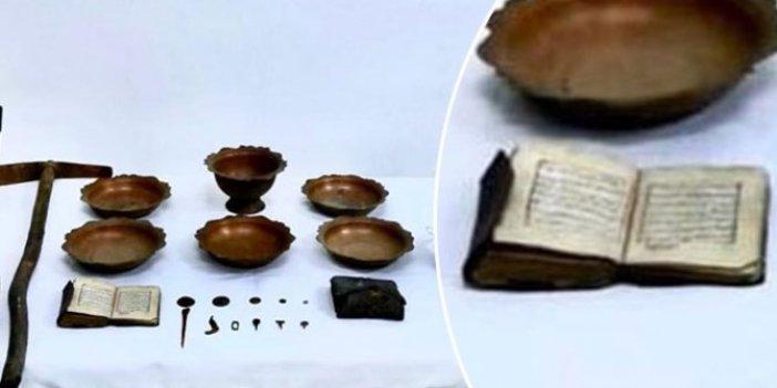 Muğla'da ele geçirildi: Ceylan derili 900 yıllık...