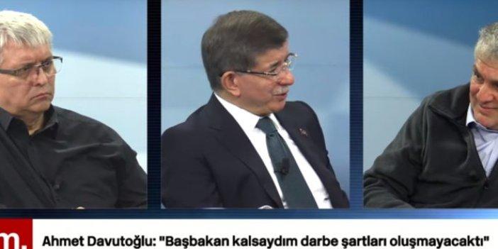 """Ahmet Davutoğlu: """"Başbakan kalsaydım darbe şartları oluşmayacaktı"""""""