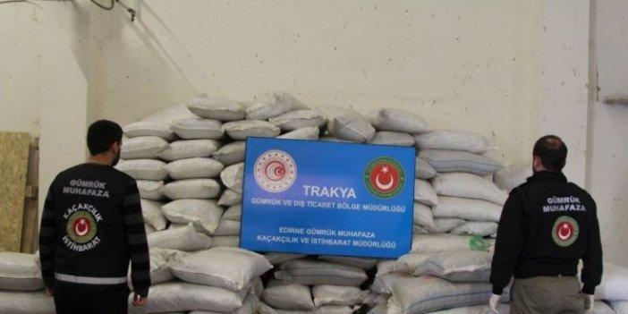 Kapıkule'de uyuşturucu operasyonunda rekor kırıldı