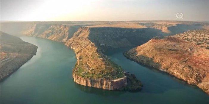 Zeugma ve Fırat Nehri'nin tanıtımı için özel görüntü!