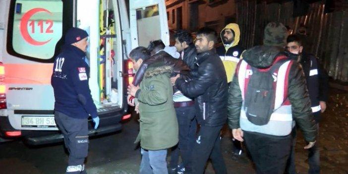 Göçmen kaçakçılığı operasyonu:135 gözaltı