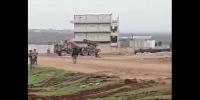 Suriye ordusu ÇNRA'larla vuruldu