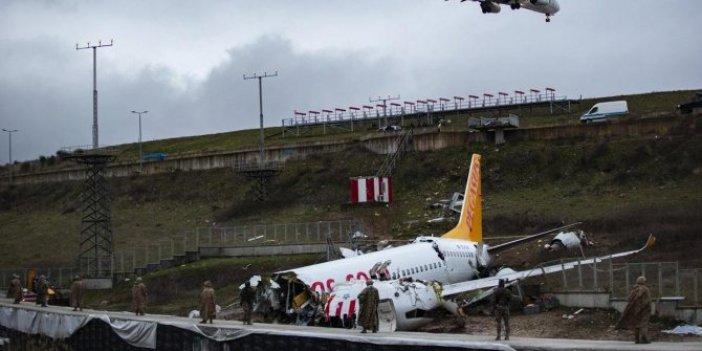 Sabiha Gökçen'deki kazada yardımcı pilotun ifadesi alındı