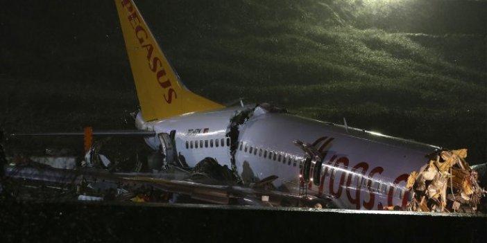Sabiha Gökçen'deki kazada yardımcı pilotun ifadesi ortaya çıktı