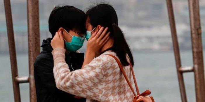 Coronavirüsle savaşan Çin'de sevgililer günü hediyeleri değişti
