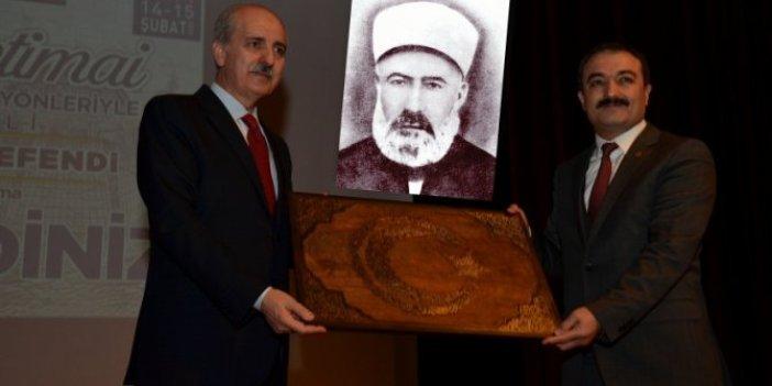 Numan Kurtulmuş, İskilipli Atıf'ı andı, Atatürk dönemini hedef aldı!