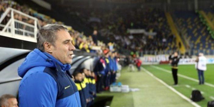 Fenerbahçe taraftarından Ersun Yanal'a tepki