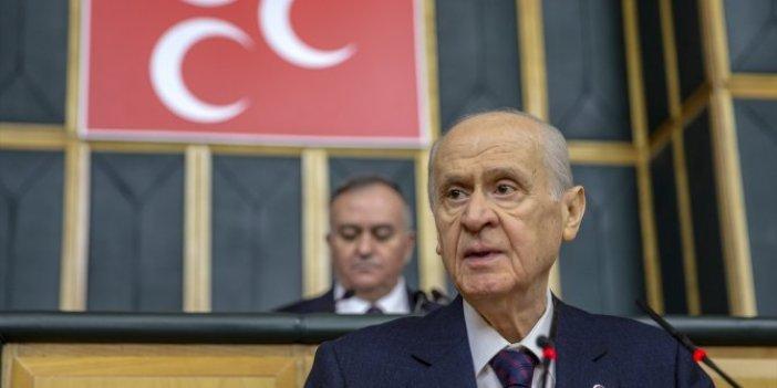 Devlet Bahçeli MHP grubunda konuştu