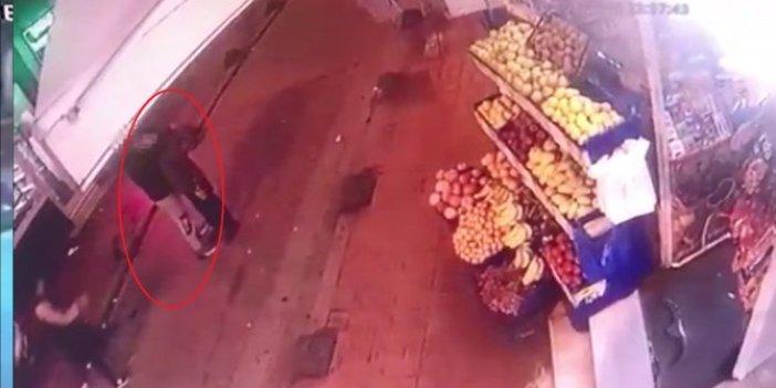 Faslı hırsız telefon çalarken yakalandı