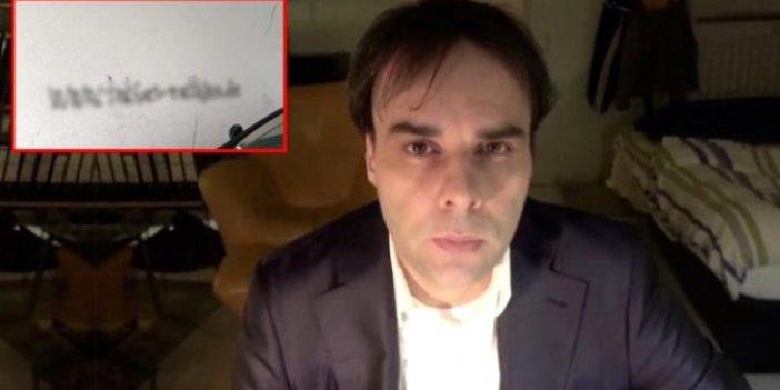 Almanya'daki saldırgan, duvara hangi ifadeyi yazdı?