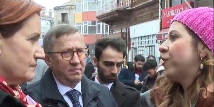 Meral Akşener ile vatandaş arasında dikkat çeken diyalog