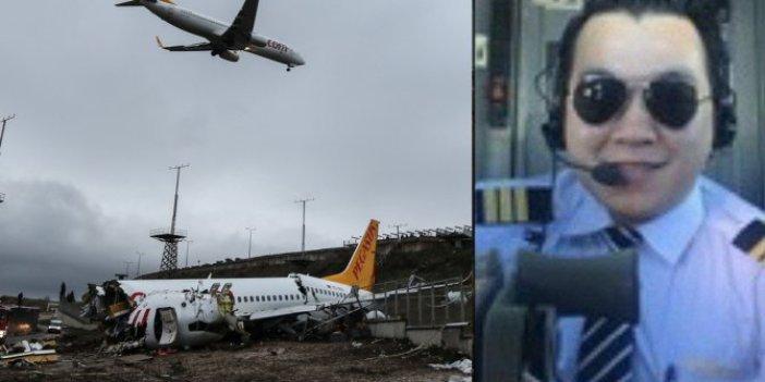 Sabiha Gökçen'de kaza yapan uçağın pilotuna büyük şok!
