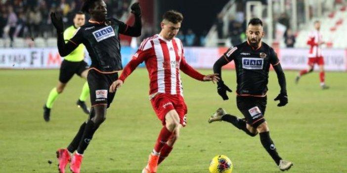 Sivasspor'un yüzü 4 maç sonra güldü
