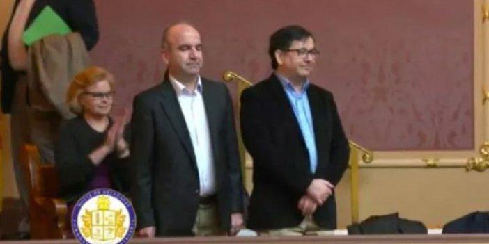 ABD Meclisi'nde firari FETÖ'cüleri 'cesur gazeteciler' diye tanıttılar