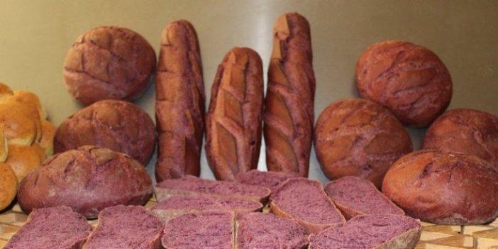 Mor ekmeğe yoğun ilgi