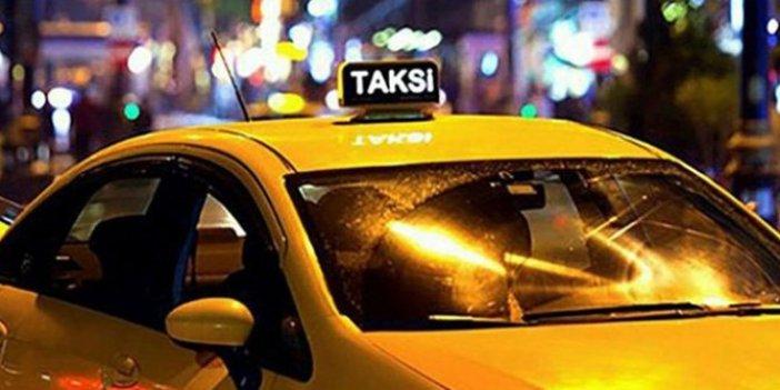 Hamile kadını taksiye almadı