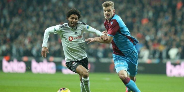 Beşiktaş, Trabzonspor maçında gol öncesi tartışmalı pozisyon