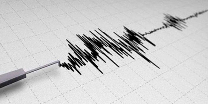 İran sınırında bir deprem daha!