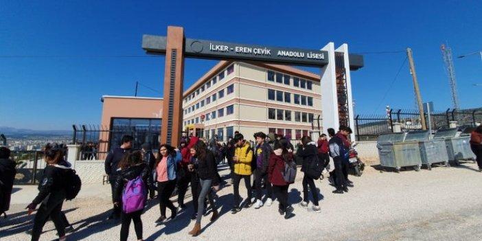 İlaçlanan okulda 17 öğrenci zehirlendi