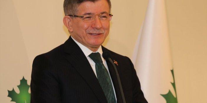 Ahmet Davutoğlu'ndan Devlet Bahçeli'ye İmralı göndermesi