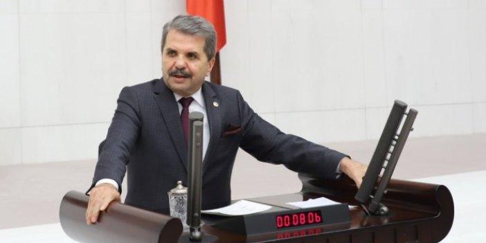Feridun Bahşi'den Meclis'te Murat Ağırel tepkisi
