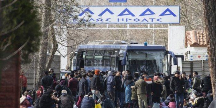 Yunanistan'dan sığınmacı açıklaması: İzin verilmeyecek