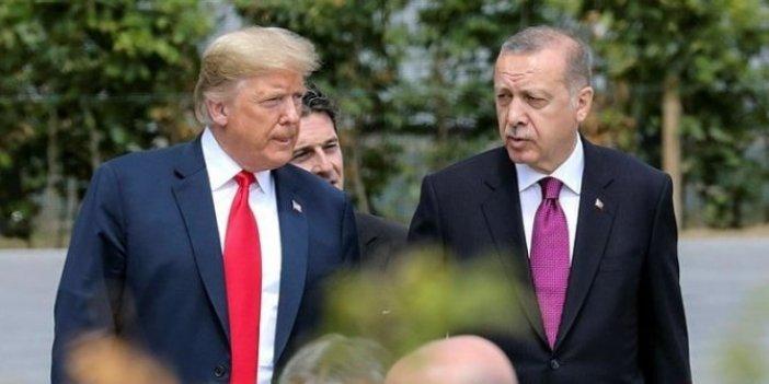 Tayyip Erdoğan Trump'la görüştü