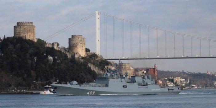 Boğazlardan geçen Rus gemilerindeki çarpıcı Osmanlı detayı!