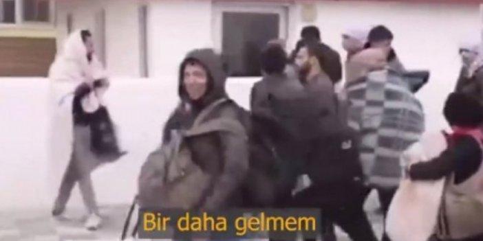"""Suriyeli bir sığınmacı: """"Görüşürüz Türkiye, bir daha gelmem"""""""