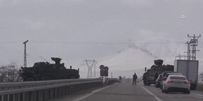 Ağrı'da Gümrük Müdürlüğü aracına roketli saldırı!
