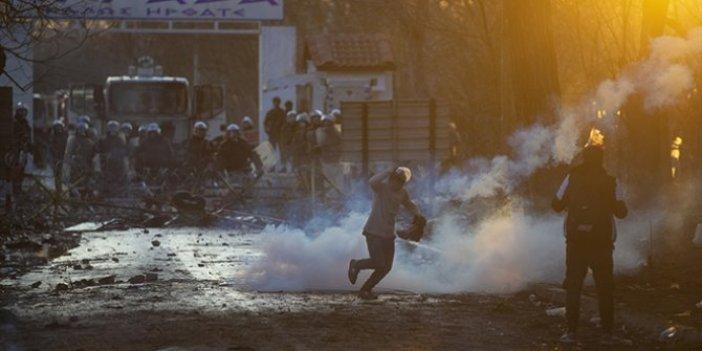 Yunanistan sığınmacılara ateş açtı: Bir kişi hayatını kaybetti