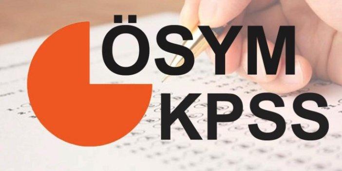 KPSS ne zaman? İşte 2020 KPSS lisans, ön lisans, ortaöğretim başvuru tarihleri...