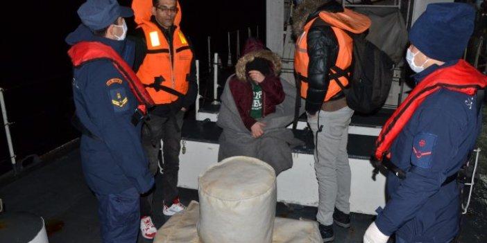 Göçmenleri balıkçılar kurtardı
