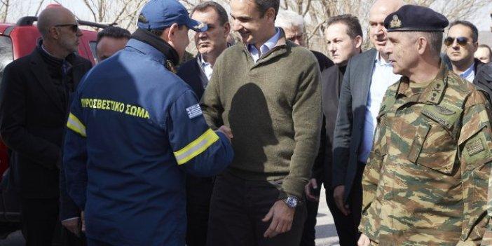 Yunan Başbakan sınırdan Türkiye'yi hedef aldı