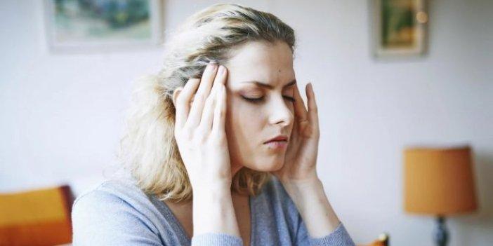 Stres, 'gerilim tipi baş ağrısı'na yol açıyor
