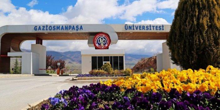 Tokat Gaziosmanpaşa Üniversitesi'nde kişiye özel atama!