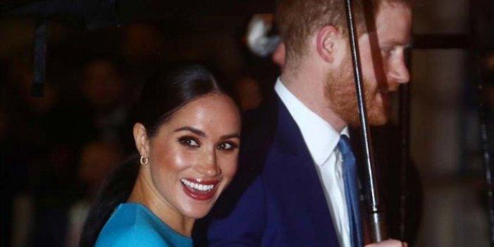 Meghan ve Harry son görevleri için Londra'da