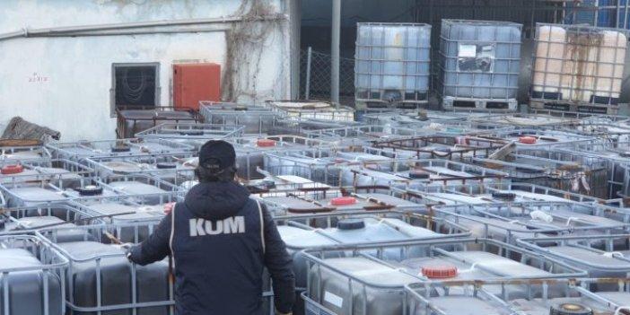 5,2 milyon litre kaçak akaryakıt ele geçirildi