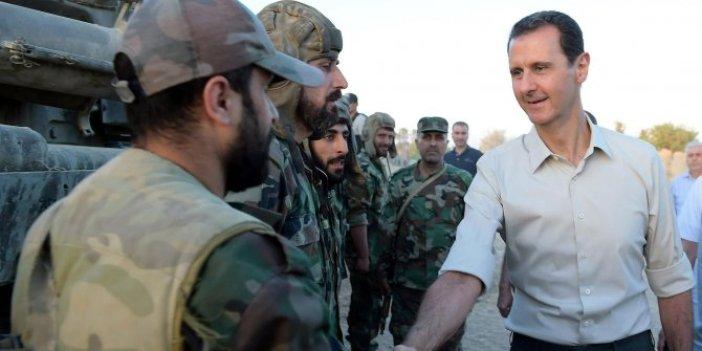 Esad'ın karargahında corona virüs paniği!