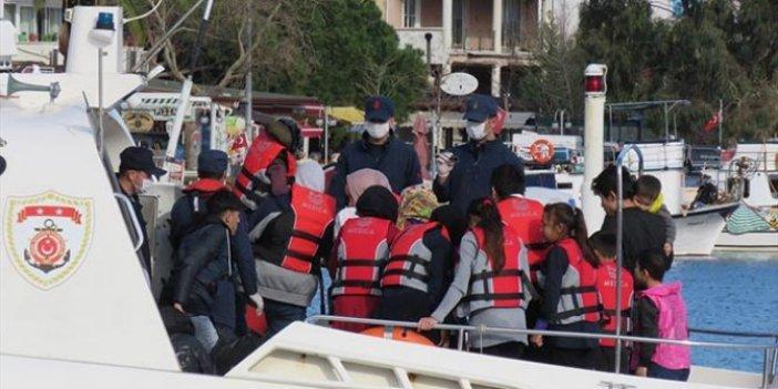 Sığınmacıların Yunanistan'a deniz yoluyla geçişine kısıtlama